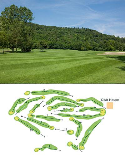 gut acht golfpl tze bieten sich nur wenige kilometer voneinander entfernt an. Black Bedroom Furniture Sets. Home Design Ideas