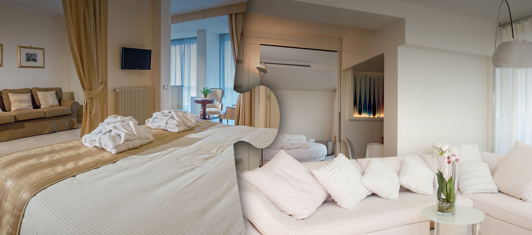 Zimmer & Suiten - AbanoRitz SPA Hotel